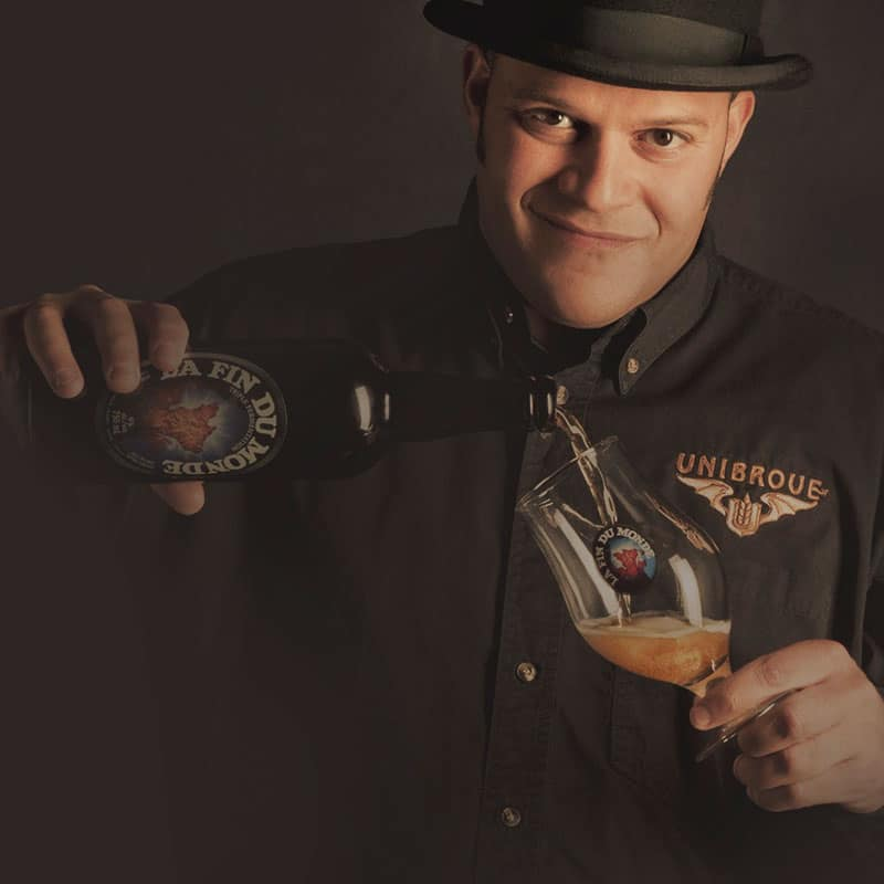 Jerry Vietz, Unibroue brewer