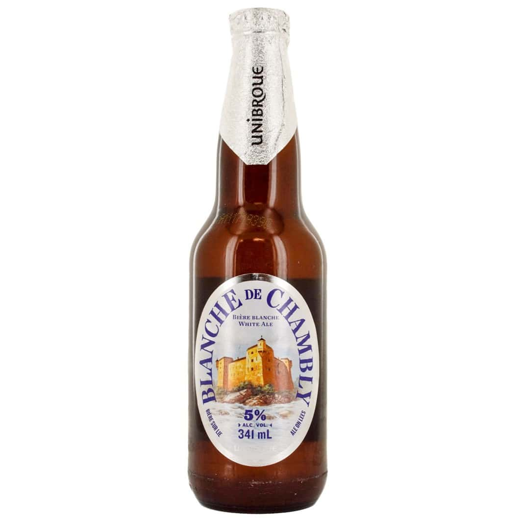 Beer Blanche de Chambly - Unibroue brewery