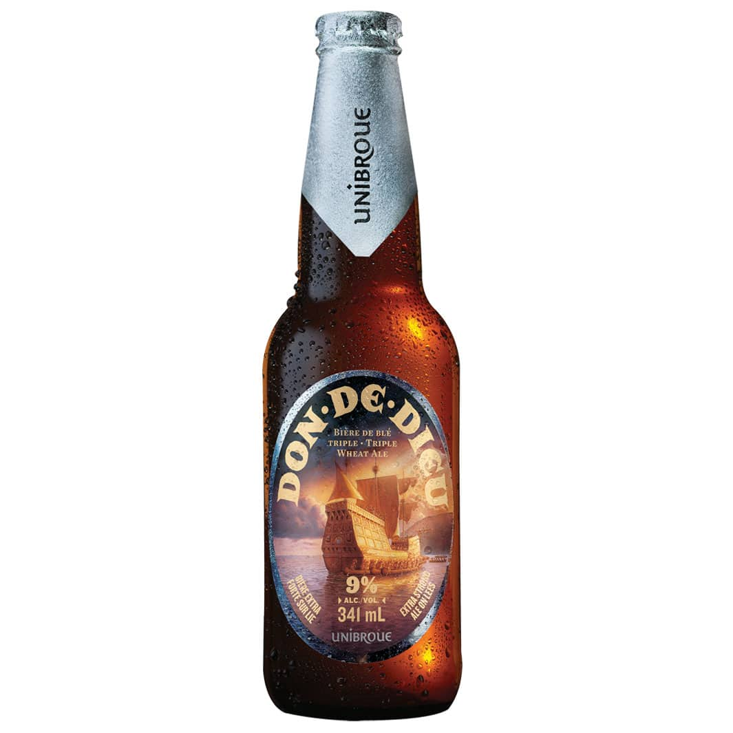 Beer Don de Dieu - Unibroue in Europe