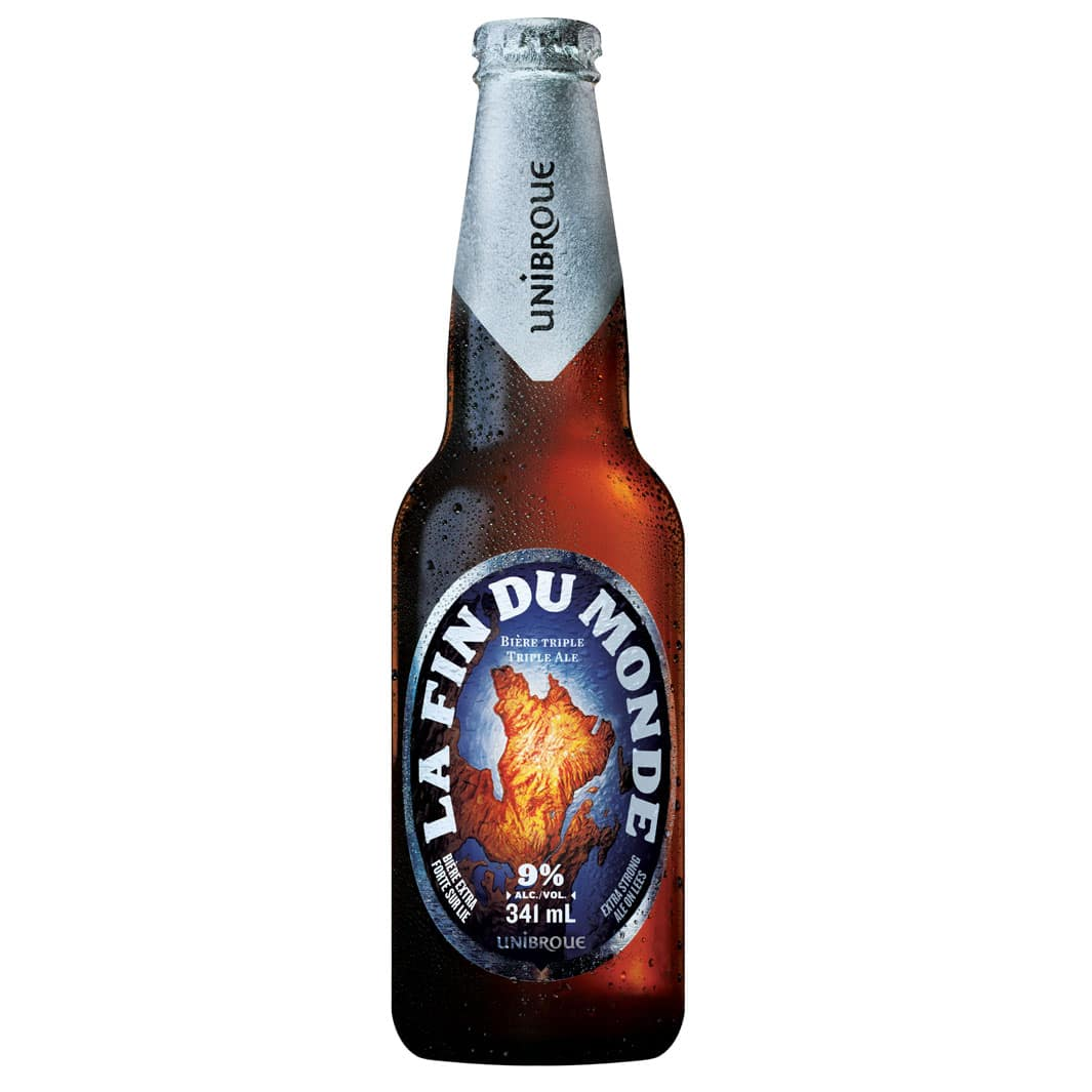 Beer Fin du Monde - Unibroue in Europe
