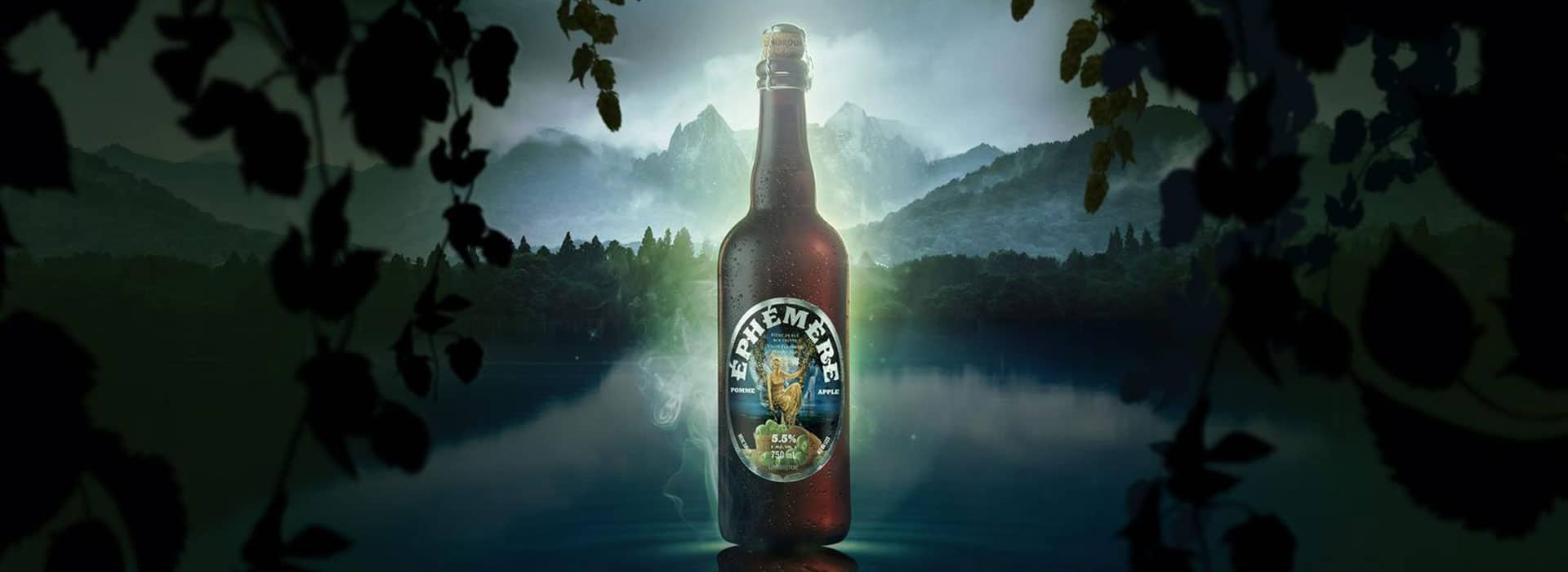 Apple beer Unibroue