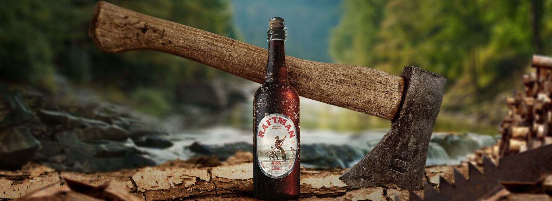 Raftman beer Unibroue
