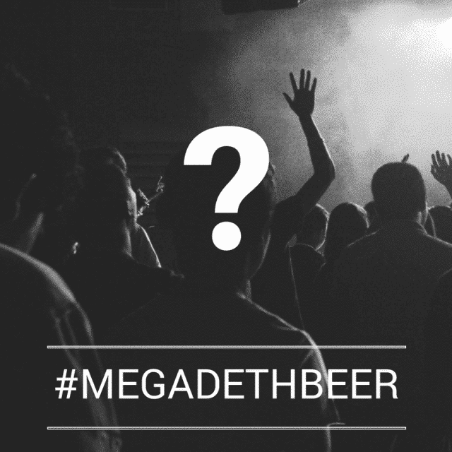 Megadeth beer : welcome in France